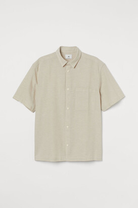 H&M Relaxed Fit Linen-blend shirt
