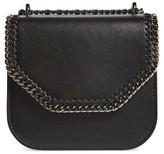 Stella McCartney Small Falabella Box Alter Nappa Faux Leather Crossbody Bag - Black