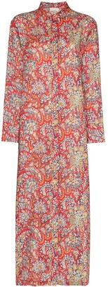 Etro Fiordaliso paisley print tunic dress