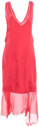 alex vidal 3/4 length dresses