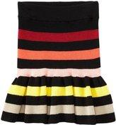 Sonia Rykiel Enfant Ribbed Skirt (Toddler/Kid) - Multicolor-2T