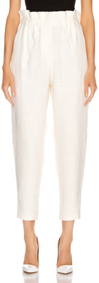 IRO Kaly Pants in White | FWRD