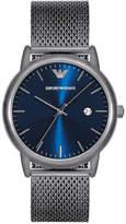 Emporio Armani Men's Luigi Stainless Steel Mesh Bracelet Watch 43mm AR11053