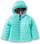 The North Face Little Girls 2T-6T Reversible Mossbud Swirl Jacket