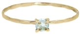 Melissa Joy Manning Sky Blue Topaz Stacking Ring - Yellow Gold