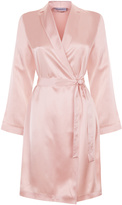 Silk Silk Satin Short Robe