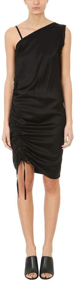 Alexander Wang Asymmetrical Ruched Dress