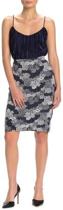 Philosophy di Lorenzo Serafini Stretch Knit Skirt (Petite)