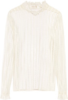 Zimmermann Striped lace blouse