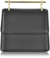 M2Malletier Mini Collectionneuse Black Leather Crossbody Bag