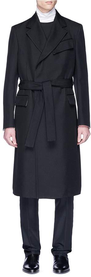 Calvin Klein Belted twill trench coat