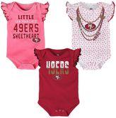 Baby San Francisco 49ers Polka Fan 3-Piece Bodysuit Set