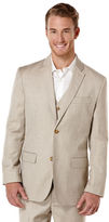 Perry Ellis Big and Tall Brushed Nickel Textured Suit