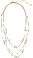 Kate Spade Triple Strand Necklace