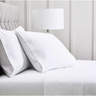 The White Company Luxury Savoy 400 Thread Count Fitted Sheet