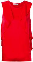 Jucca rouched tank top - women - Silk/Spandex/Elastane - 42