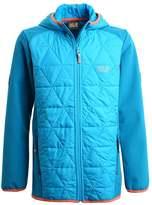 Jack Wolfskin GRASSLAND HYBRID Soft shell jacket icy lake blue