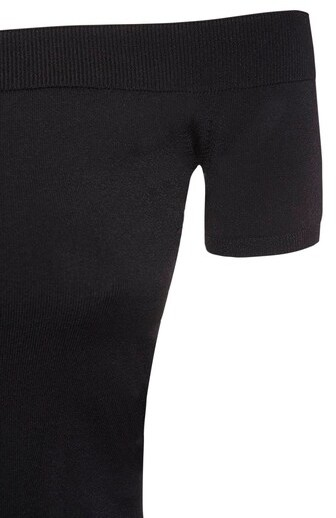 Thumbnail for your product : Alexander McQueen Viscose Blend Knit Top