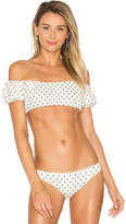 Lovers + Friends x REVOLVE Just Don't Care Top in White. - size L (also in M,S,XL,XS)