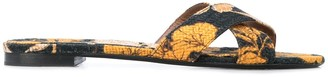 Tabitha Simmons Lassie floral-print sandals