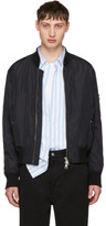 Ami Alexandre Mattiussi Black Zipped Teddy Jacket