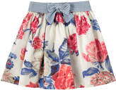 Cath Kidston Porchester Rose Skirt with Bow