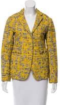 Marni Notch-Collar Tweed Jacket