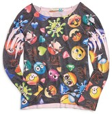 Vintage Havana Girls' Emoji Print Top - Sizes S-XL