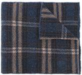 Lardini checked scarf