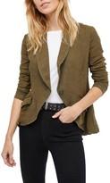 Free People Women's Linen Blend Blazer