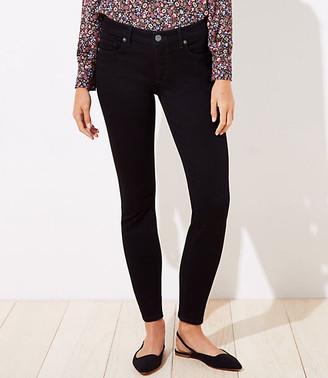 LOFT Tall Curvy Slim Pocket Skinny Jeans in Black