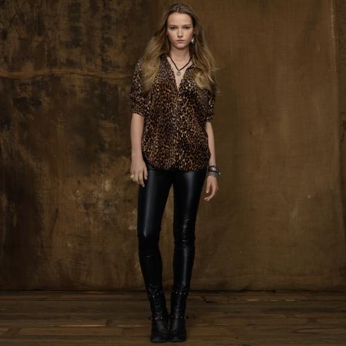 Denim & Supply Ralph Lauren Velour Button-Down Shirt
