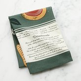 Crate & Barrel Veggie Stew Dish Towel