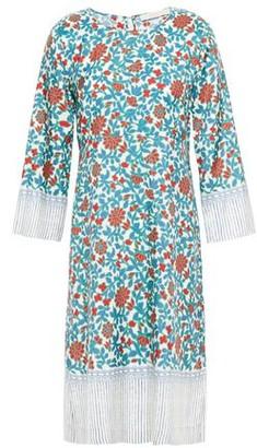 Vanessa Bruno Printed Silk-twill Mini Dress