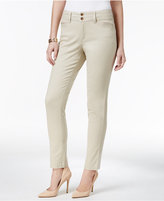 Charter Club Tummy-Control Bristol Skinny Ankle Pants, Only at Macy's
