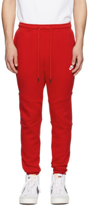 Nike Red Sportswear Tech Lounge Pants