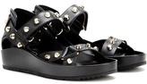 Balenciaga Studded Leather Platforms
