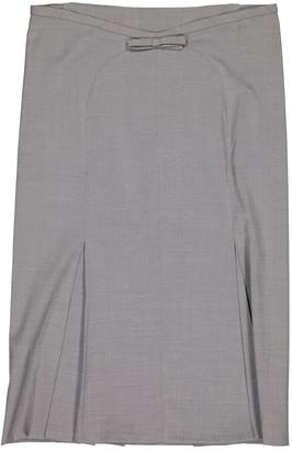 Louis Vuitton \N Grey Wool Skirts