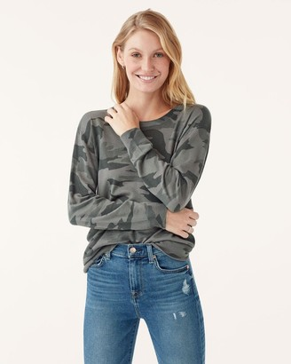 Splendid Tunic Pullover in Camo