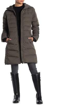 Lole Katie Faux Fur Trim Hooded Down Parka Jacket