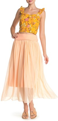 Lola Made In Italy Convertible Maxi Skirt