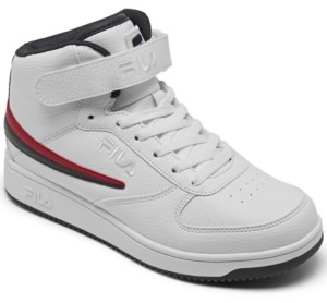 Fila Men's A-High Stay-Put Closure High Top Casual Sneakers from Finish Line