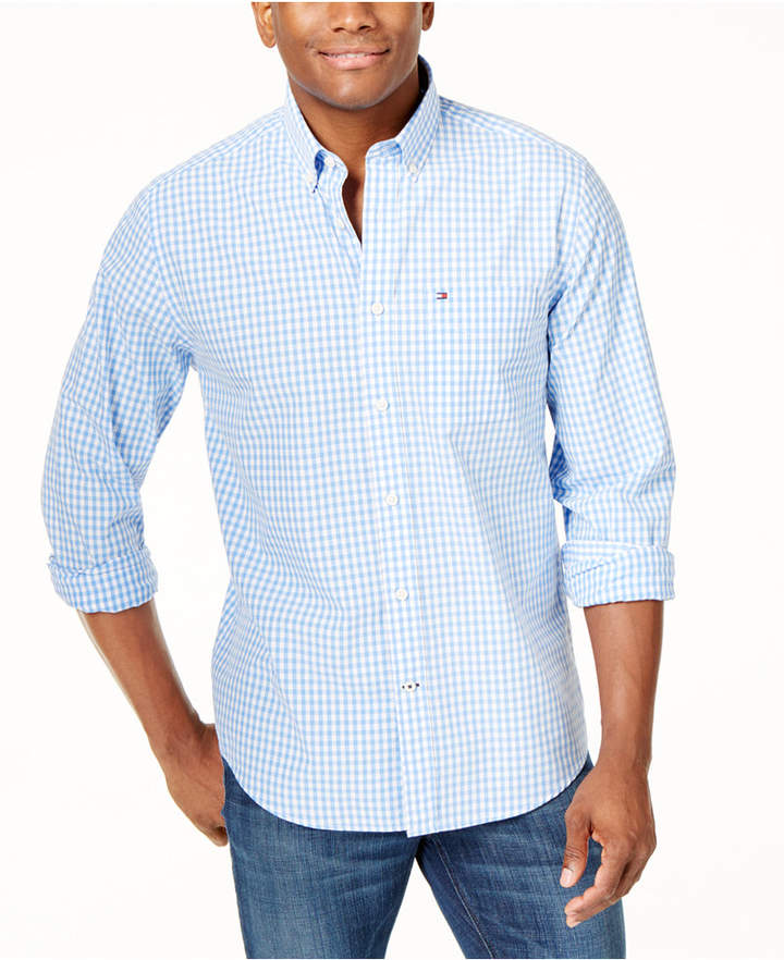 1e49cadbe Tommy Hilfiger Gingham Men's Shirts - ShopStyle