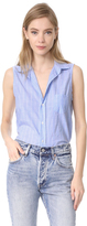 Frank And Eileen Fiona Sleeveless Blouse