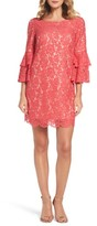 Eliza J Women's Lace Bell Sleeve Dress