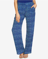 CeCe Printed Wide-Leg Soft Pants