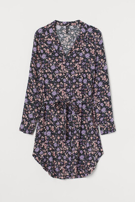 H&M Short Shirt Dress - Pink