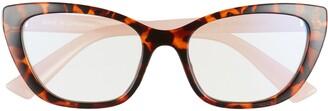 BP 52mm Cat Eye Blue Light Blocking Glasses