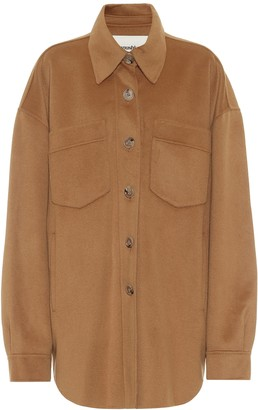 Nanushka Martin wool and silk jacket