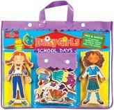 T. S. Shure Daisy Girls School Days Wooden Magnetic Dress-Up Dolls